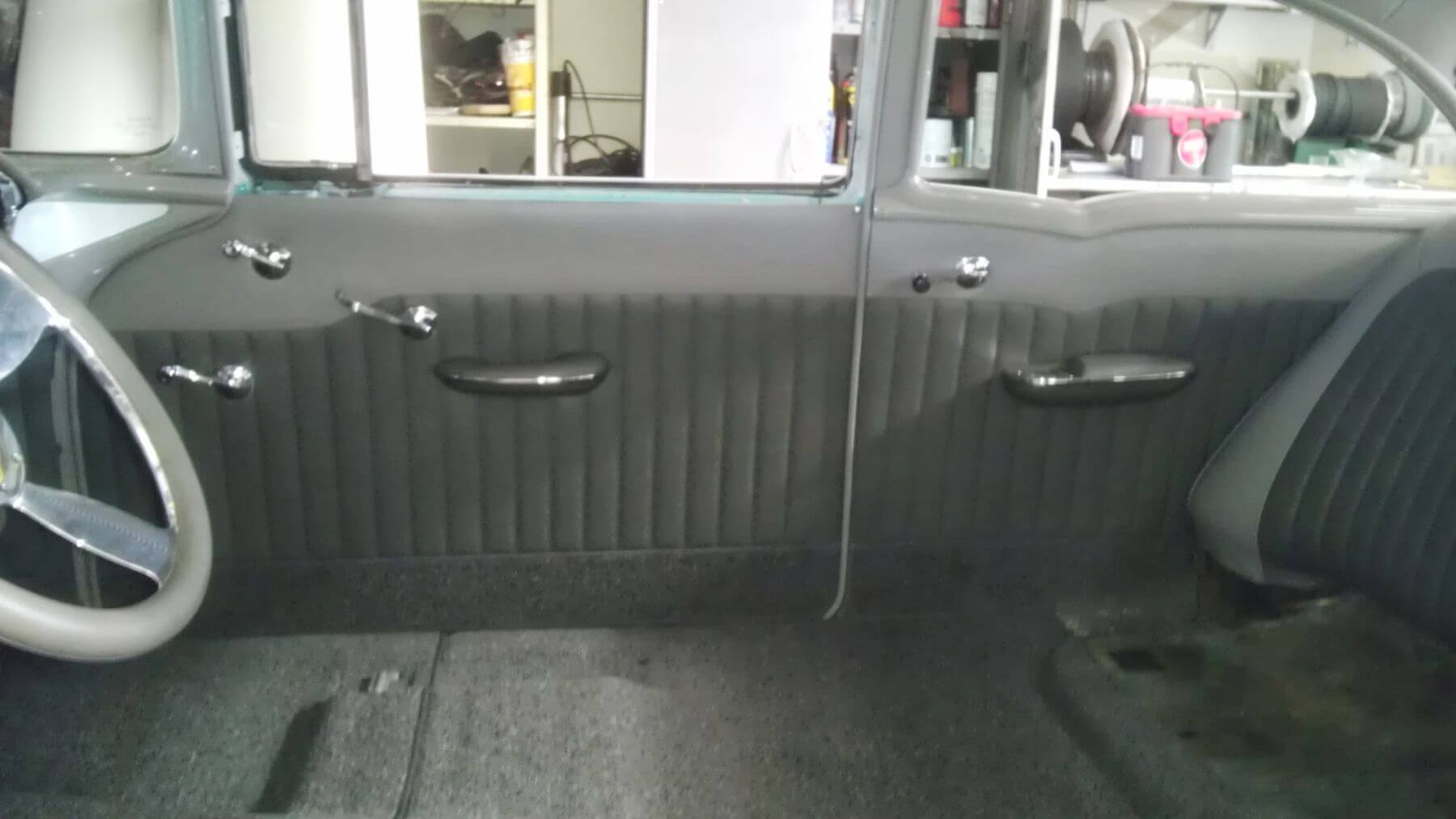55 Chevy Bel Air Interior Frank S Hot Rods Upholstery