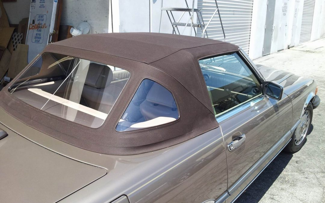Mercedes Benz 560 SL Convertible Top Replacement