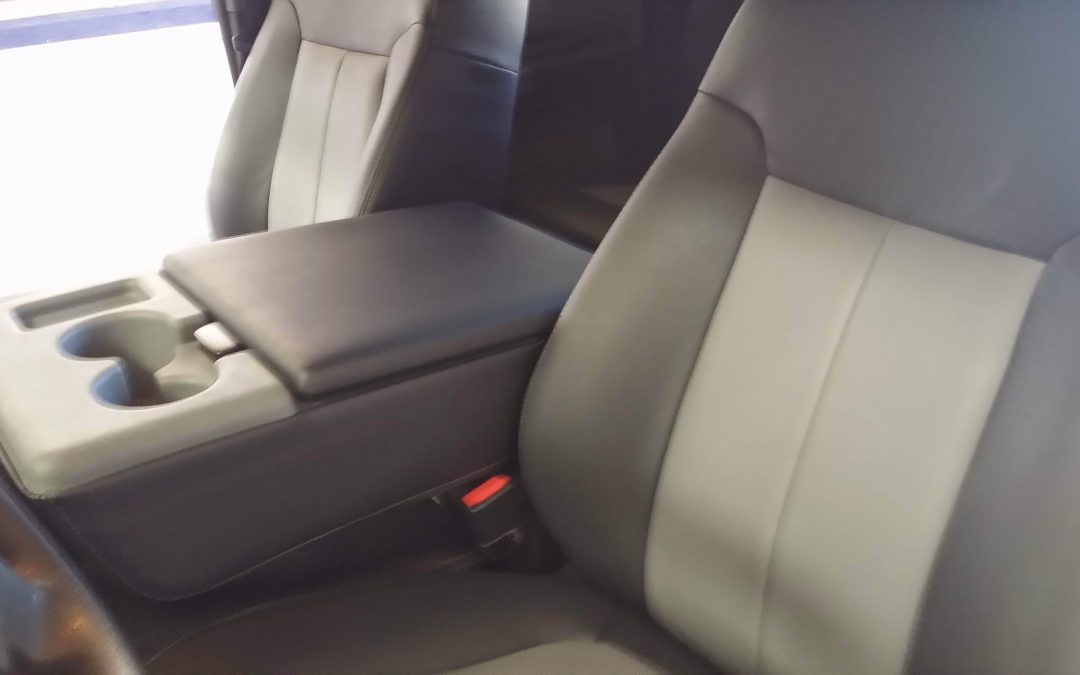 2009 Ford F-350 Leather Seat Upgrade