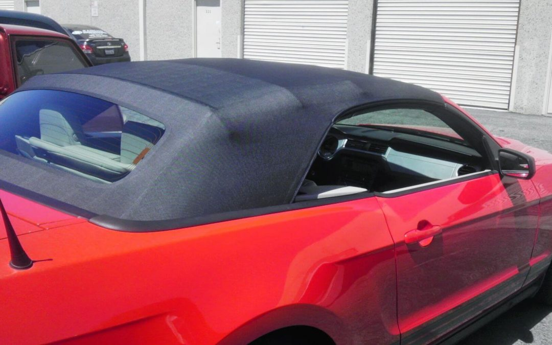 2011 Ford Mustang Convertible Top Replacement