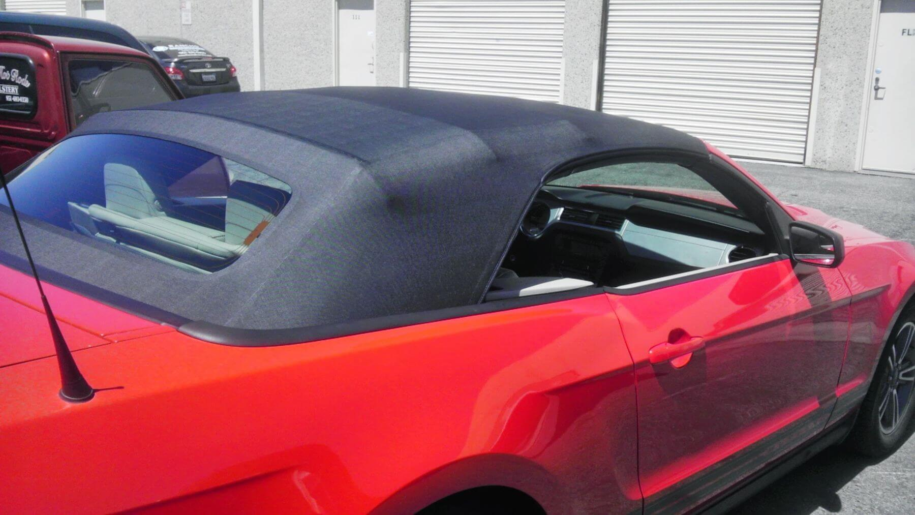The Owner Of This Vehicle Initially Decided To Go With An Aftermarket Top But Then Changed His Mind After Installation Was Completed And Wanted A