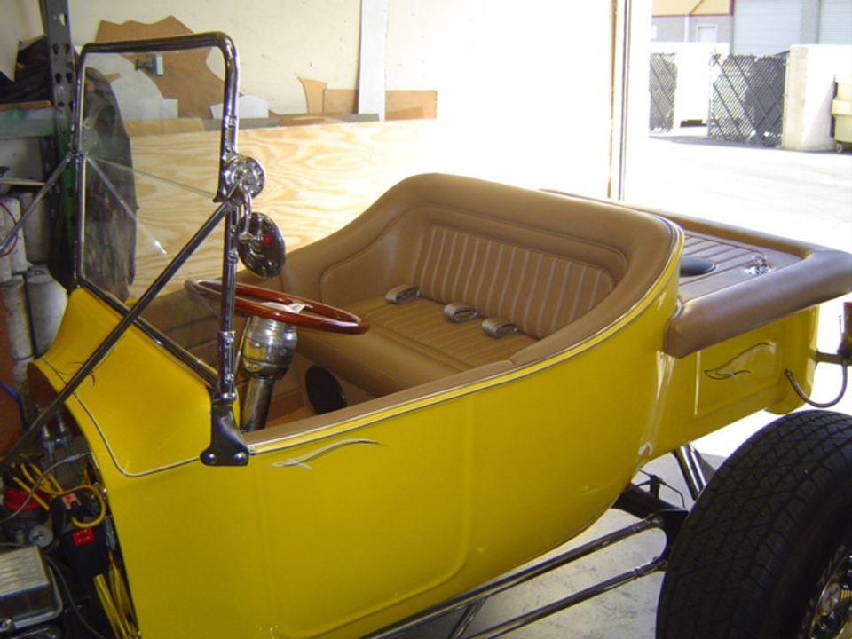 Ford T Bucket Custom Interior Frank S Hot Rods Upholstery